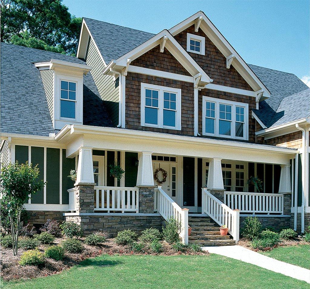 Craftsman Home Exteriors: Craftsman Style House Plan