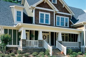 Home Plan - Craftsman Exterior - Front Elevation Plan #927-3