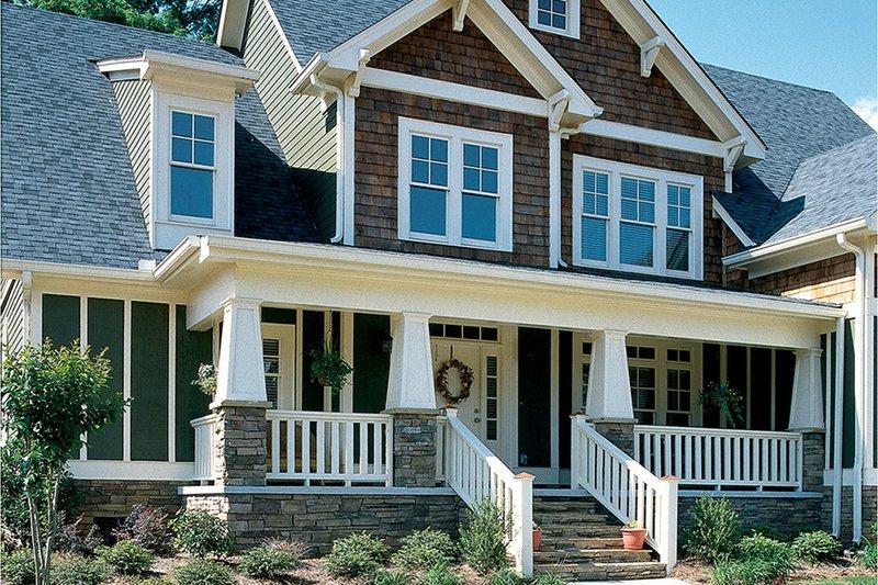 House Design - Craftsman Exterior - Front Elevation Plan #927-3