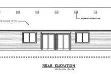 Traditional Exterior - Rear Elevation Plan #100-108