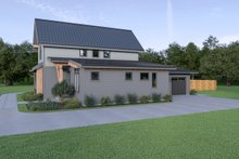 House Plan Design - Contemporary Exterior - Other Elevation Plan #1070-80