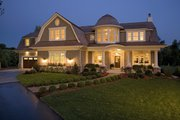 Traditional Style House Plan - 4 Beds 4 Baths 5342 Sq/Ft Plan #56-604 Exterior - Other Elevation