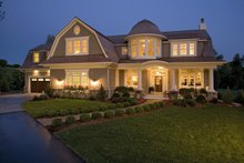 Dream House Plan - Traditional Exterior - Other Elevation Plan #56-604