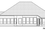 Mediterranean Style House Plan - 4 Beds 3 Baths 3087 Sq/Ft Plan #84-598