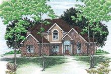 House Plan Design - European Exterior - Front Elevation Plan #20-904