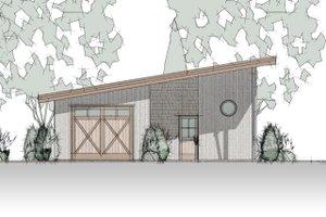 Bungalow Exterior - Front Elevation Plan #910-4