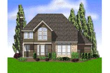 Home Plan - European Exterior - Rear Elevation Plan #48-442