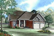 Traditional Style House Plan - 3 Beds 2 Baths 1504 Sq/Ft Plan #17-191 Exterior - Other Elevation