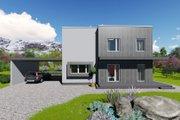 Modern Style House Plan - 3 Beds 1 Baths 2060 Sq/Ft Plan #549-13