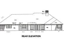Traditional Exterior - Rear Elevation Plan #310-220