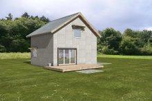House Blueprint - Modern Exterior - Front Elevation Plan #497-56
