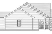 Country Style House Plan - 3 Beds 2 Baths 1535 Sq/Ft Plan #46-895 Exterior - Other Elevation