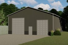 Home Plan - Country Exterior - Front Elevation Plan #1064-55