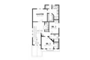 Craftsman Style House Plan - 3 Beds 2.5 Baths 1851 Sq/Ft Plan #48-631 Floor Plan - Upper Floor Plan