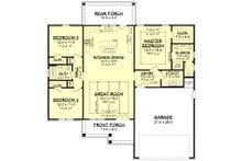 Farmhouse Floor Plan - Main Floor Plan Plan #430-217