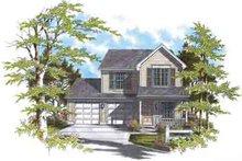 House Design - Farmhouse Exterior - Front Elevation Plan #48-192