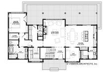 Farmhouse Floor Plan - Main Floor Plan Plan #928-306