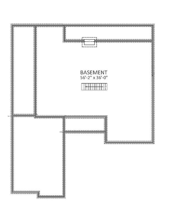 Farmhouse Floor Plan - Other Floor Plan Plan #898-34
