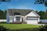 Farmhouse Style House Plan - 3 Beds 2 Baths 1603 Sq/Ft Plan #20-2354 Exterior - Front Elevation