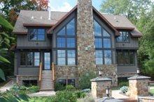 Craftsman Exterior - Rear Elevation Plan #51-574