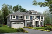Traditional Style House Plan - 4 Beds 2.5 Baths 2980 Sq/Ft Plan #132-139 Exterior - Front Elevation