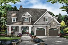 Dream House Plan - Country Exterior - Front Elevation Plan #929-1075
