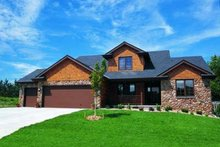 Dream House Plan - Traditional Exterior - Front Elevation Plan #20-676