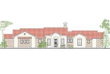 Dream House Plan - Mediterranean Exterior - Front Elevation Plan #80-167