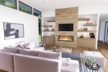 Dream House Plan - Contemporary Interior - Family Room Plan #48-1023