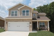 Traditional Style House Plan - 3 Beds 2.5 Baths 1840 Sq/Ft Plan #20-2087 Exterior - Front Elevation