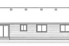 Ranch Exterior - Rear Elevation Plan #91-103
