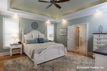 Home Plan - Ranch Interior - Master Bedroom Plan #929-1059