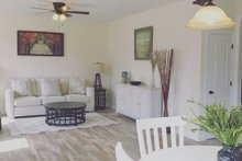 Cottage Interior - Family Room Plan #44-229