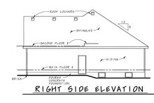 Traditional Exterior - Other Elevation Plan #20-2371
