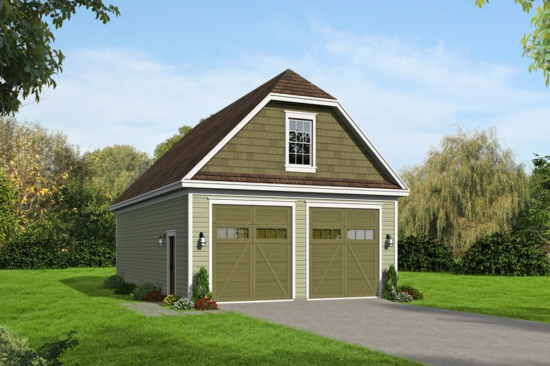 Home Plan - Country Exterior - Front Elevation Plan #932-368