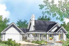 Home Plan - Country Exterior - Front Elevation Plan #929-47