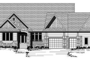 Traditional Exterior - Front Elevation Plan #51-257