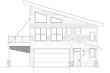 Home Plan - Contemporary Exterior - Other Elevation Plan #932-339