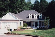 Country Exterior - Front Elevation Plan #437-13