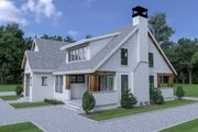 Cottage Style House Plan - 4 Beds 3 Baths 2794 Sq/Ft Plan #1070-61 Exterior - Other Elevation