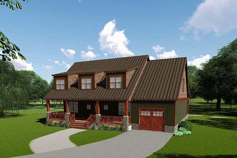 House Plan Design - Craftsman Exterior - Front Elevation Plan #923-113