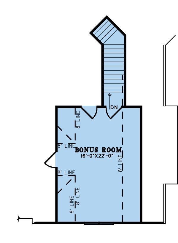 House Blueprint - Craftsman Floor Plan - Upper Floor Plan #923-192