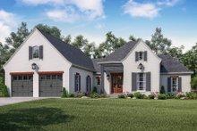Dream House Plan - European Exterior - Front Elevation Plan #430-139