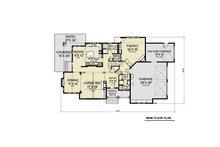 Cottage Floor Plan - Main Floor Plan Plan #1070-107