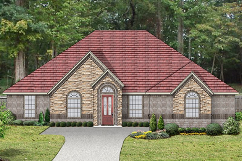Home Plan - Traditional Exterior - Front Elevation Plan #84-527