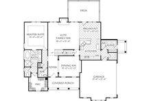 Farmhouse Floor Plan - Main Floor Plan Plan #927-1004