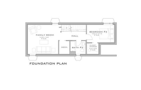 Modern Floor Plan - Other Floor Plan Plan #909-3
