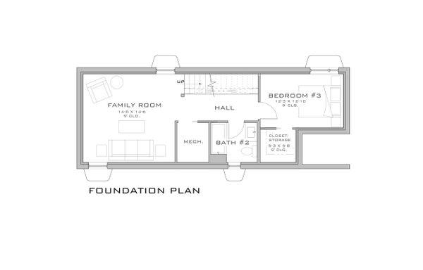 Modern Floor Plan - Other Floor Plan #909-3