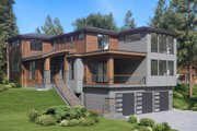 Contemporary Style House Plan - 4 Beds 3.5 Baths 3980 Sq/Ft Plan #1066-62