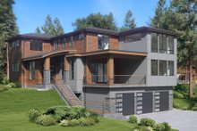 House Design - Contemporary Exterior - Other Elevation Plan #1066-62